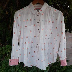 Meave Miette Teepee Print Top Anthropologie 6